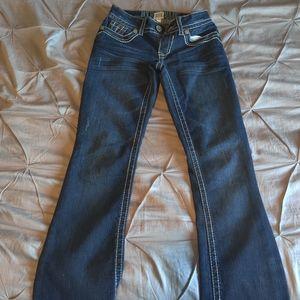 Boot cut jeans